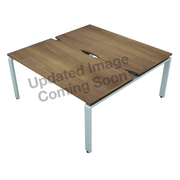 AURABENCH SHALLOW RECTANGULAR OFFICE DESK - SET OF TWO