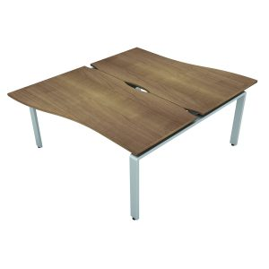 AURABENCH WAVE OFFICE DESK - SET OF TWO