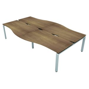 AURABENCH WAVE OFFICE DESK - SET OF FOUR