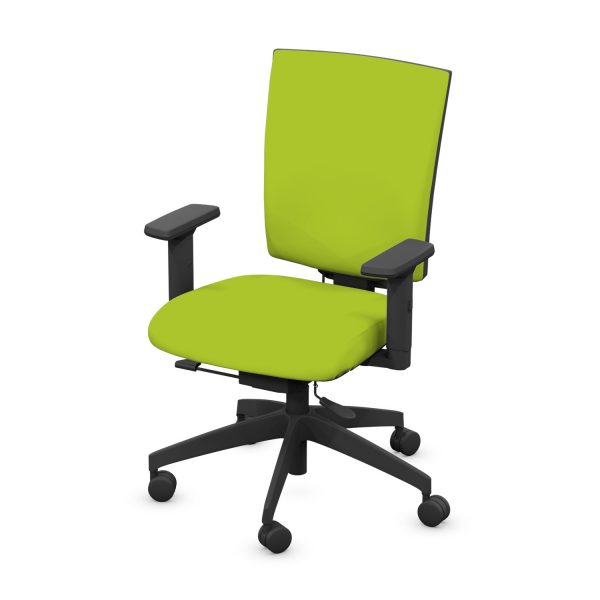 MOULTON UPHOLSTERED BACK OFFICE CHAIR