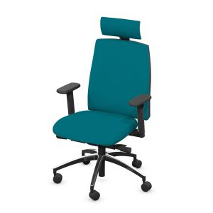 RANWORTH UPHOLSTERED BACK OFFICE CHAIR