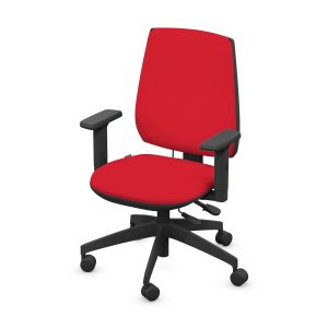 SALHOUSE UPHOLSTERED BACK OFFICE CHAIR
