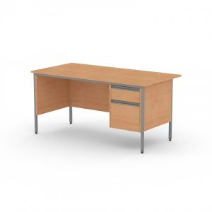 GALAXY RECTANGULAR SINGLE PEDESTAL OFFICE DESK