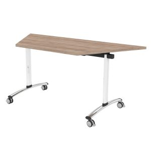 TILT TOP TRAPEZOIDAL OFFICE TABLE