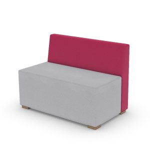 SOFT SEATING DUAL LARGE STOOL